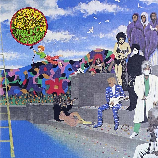 "Prince and the Revolution ""Around the World in a Day"" LP album sleeve"