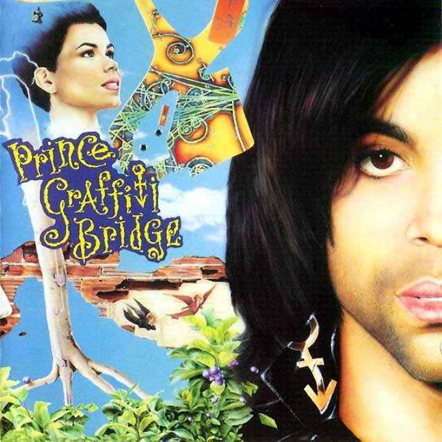 "Prince ""Graffiti Bridge album sleeve"