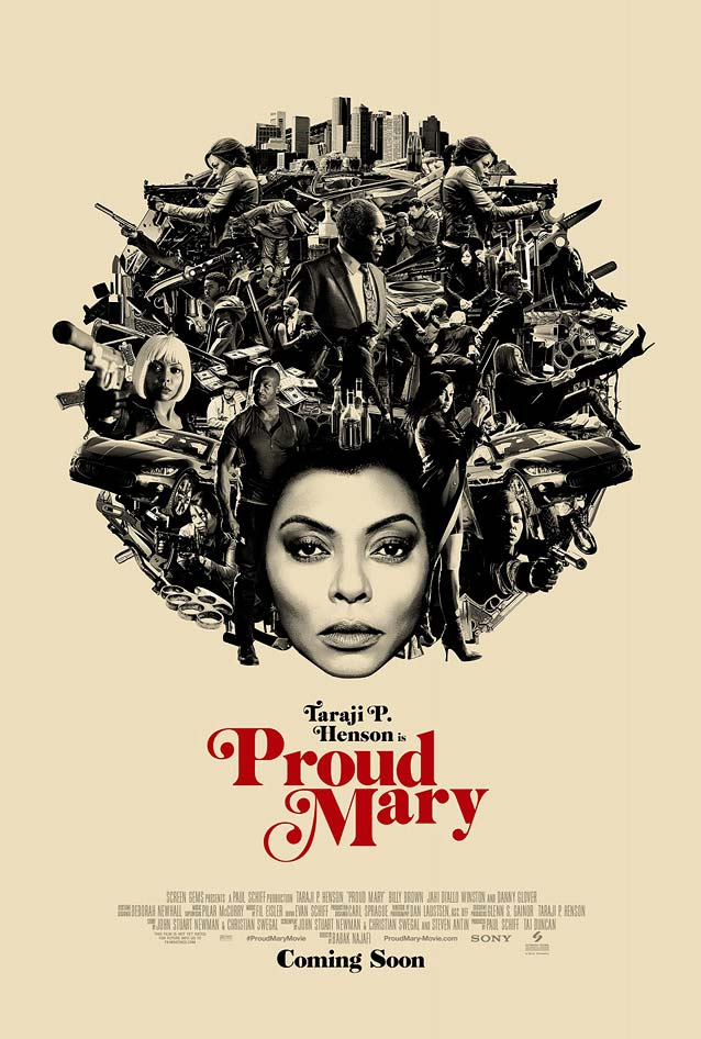 LA's main theatrical poster for Proud Mary