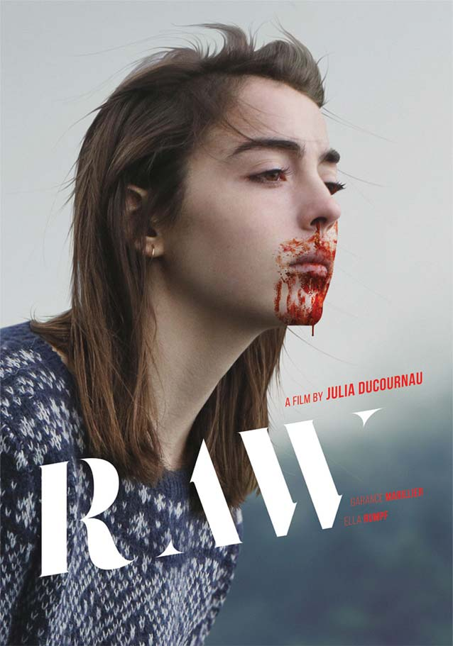 Film poster for Grave (Raw)