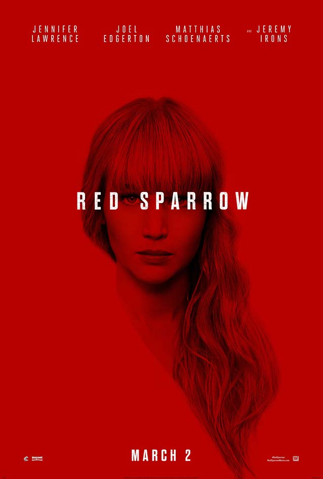 InSync Plus' teaser for Red Sparrow