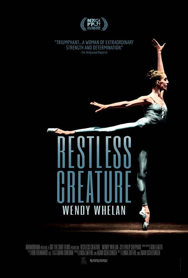 Poster for Restless Creature: Wendy Whelan