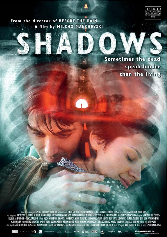Dave McKean's theatrical one-sheet for Shadows