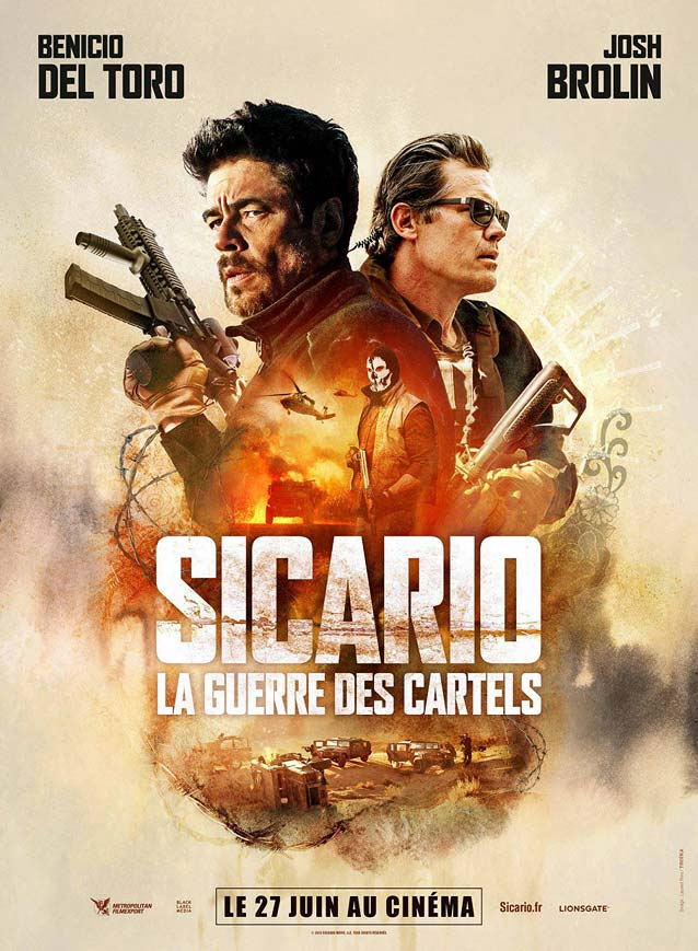 French poster for Sicario: Day of the Soldado