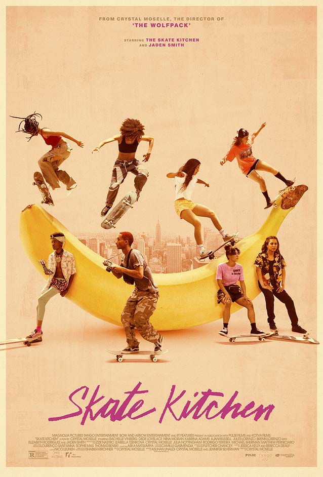 Caelin White's theatrical one-sheet for Skate Kitchen