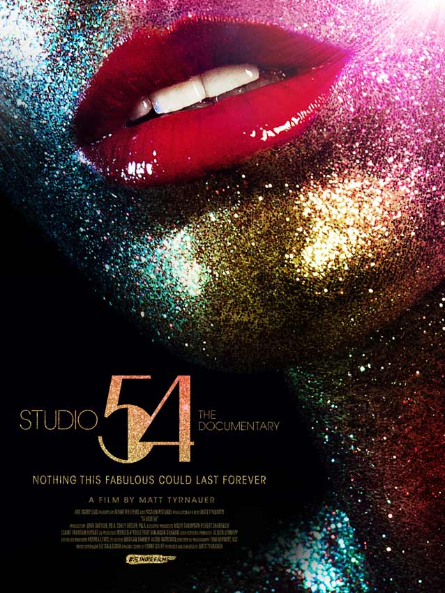 Theatrical one-sheet for Studio 54