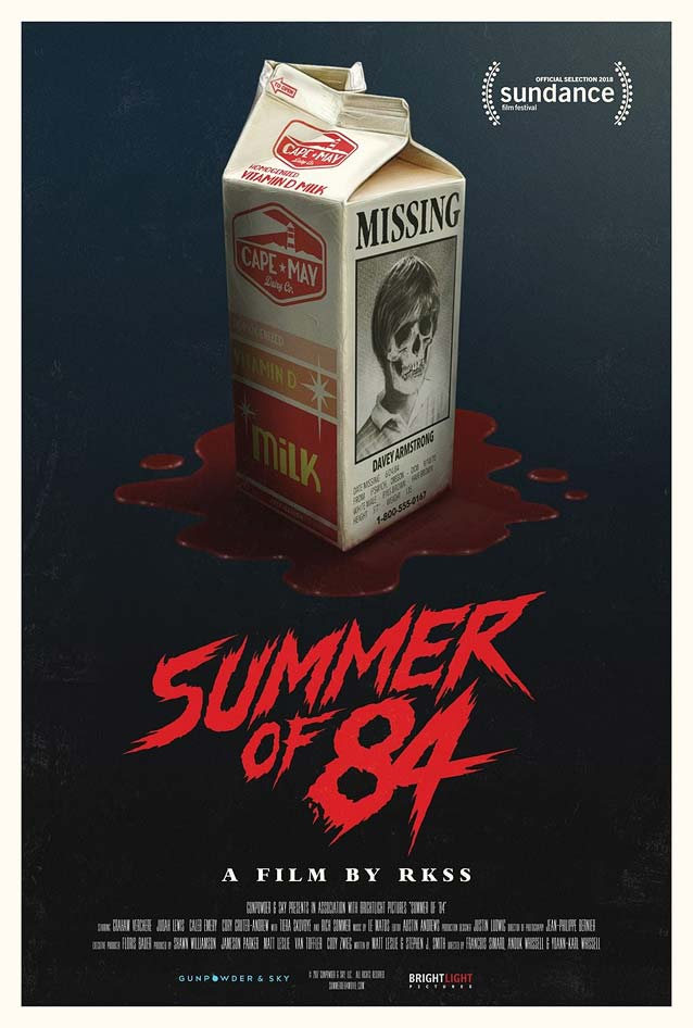 Theatrical one-sheet for Summer of 84