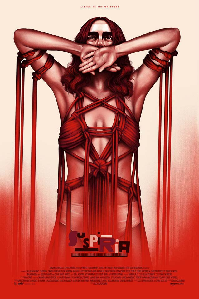 Sara Deck's Susie Bannion Mondo poster for Suspiria