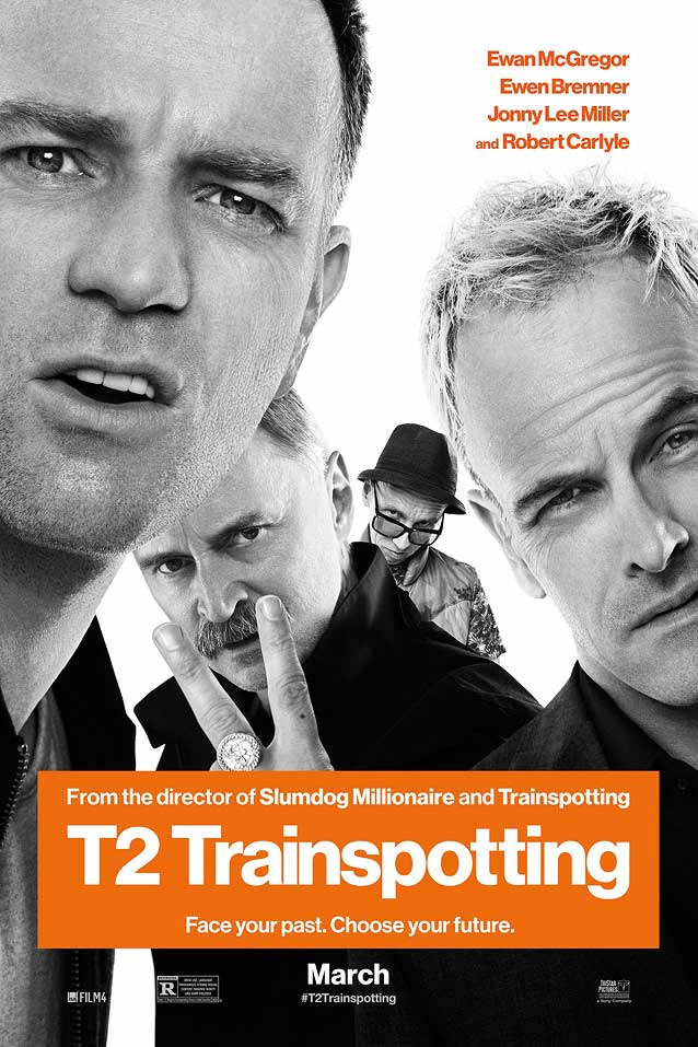 Film poster for T2 Trainspotting