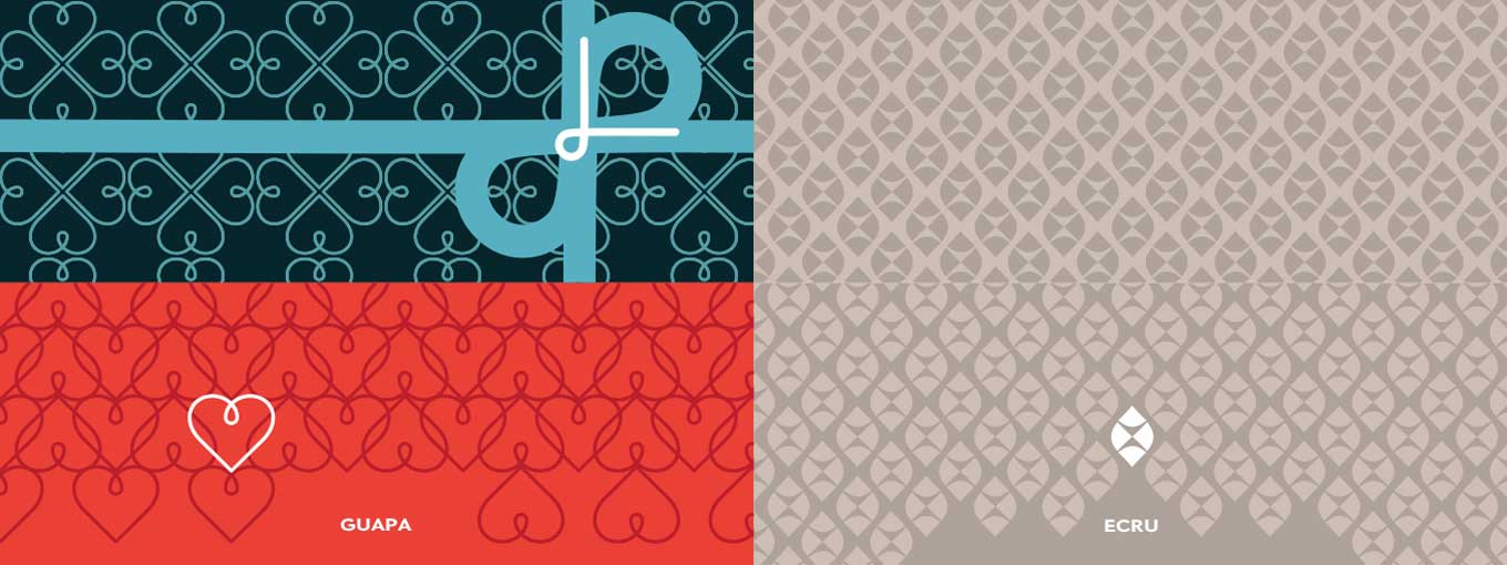 Pattern tests for Type-Ø-Tones and Lipton Letter Design