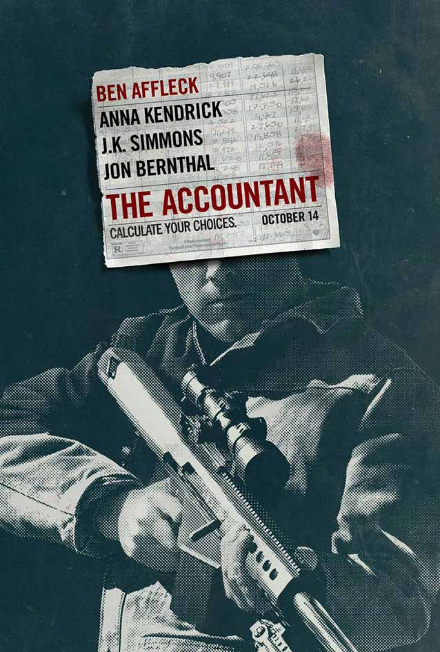 Film poster for The Accountant