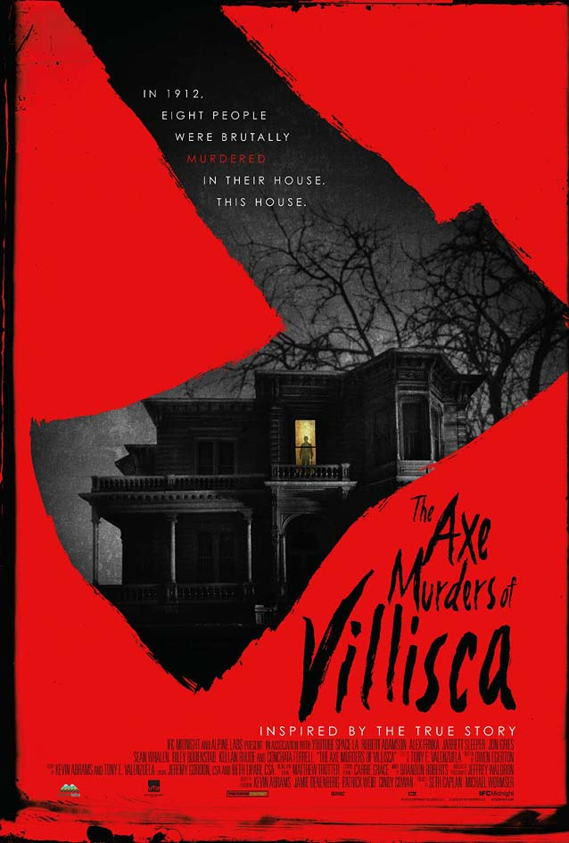 Film poster for The Axe Murders of Villisca