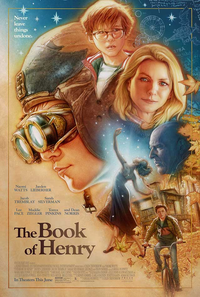 Poster for The Book of Henry