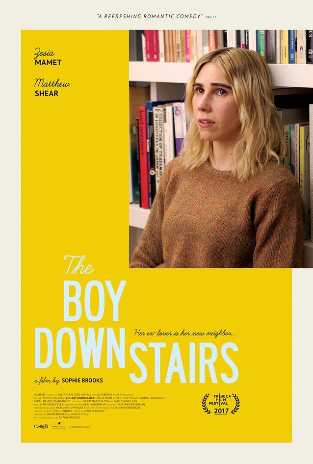 Poster for The Boy Downstairs
