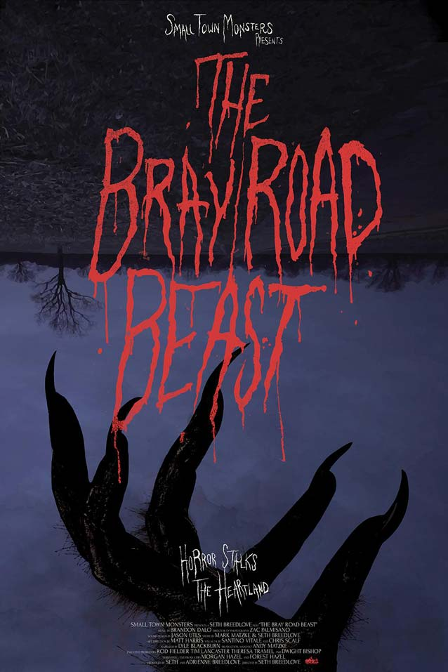 Theatrical one-sheet for The Bray Road Beast