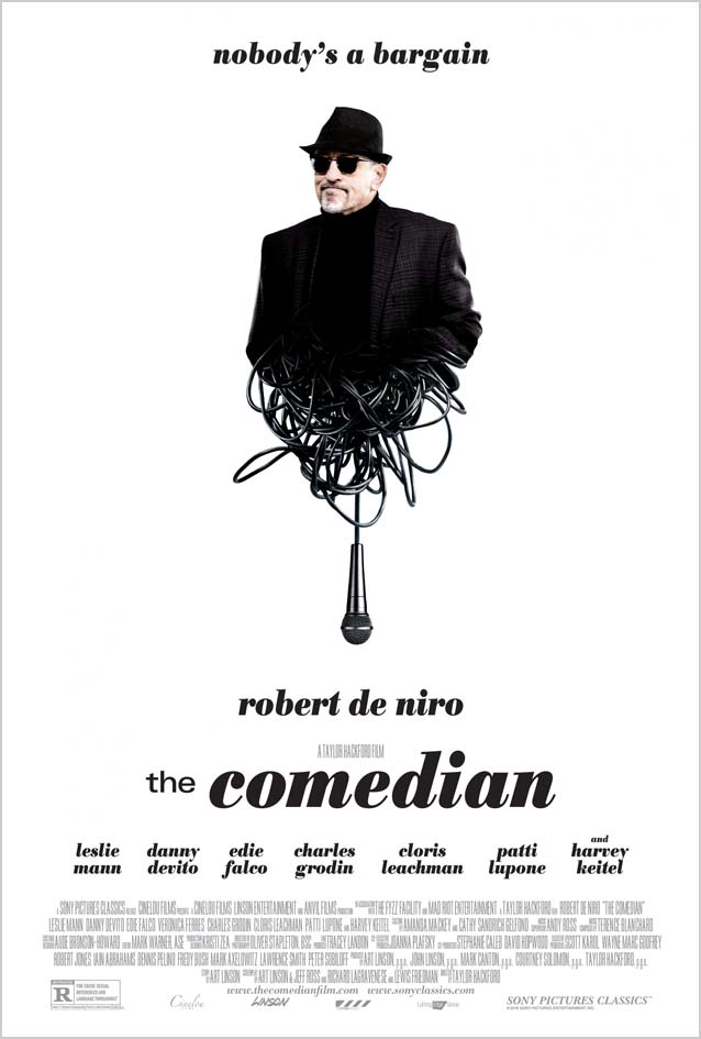 Film poster for The Comedian