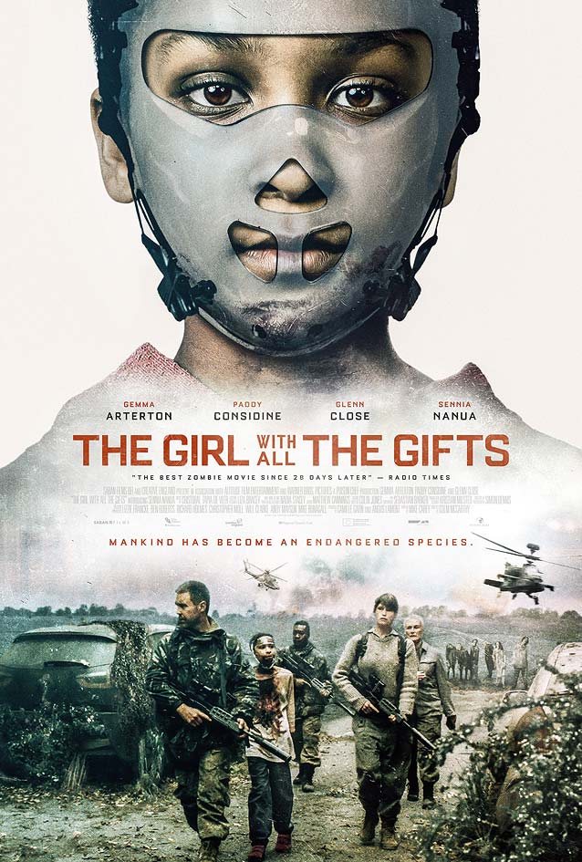 Film poster for The Girl with All the Gifts