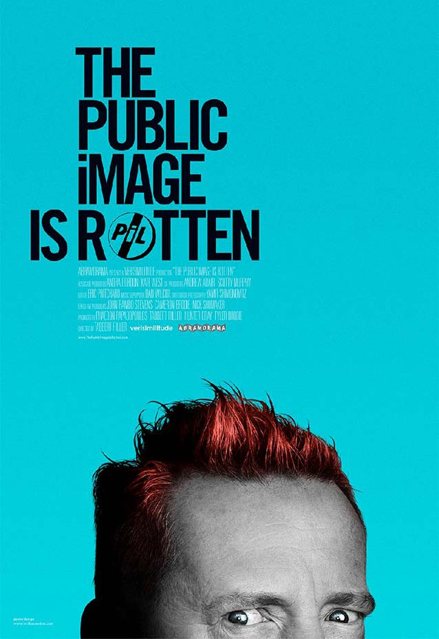 Theatrical one-sheet for The Public Image Is Rotten