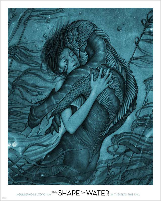Poster for The Shape of Water