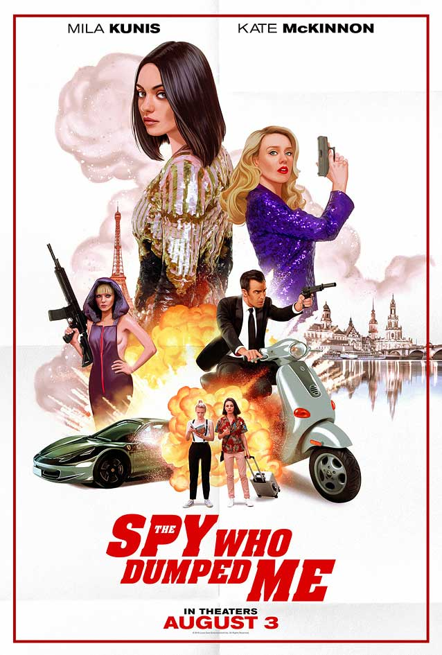 Allison Reimold's alternate poster for The Spy Who Dumped Me