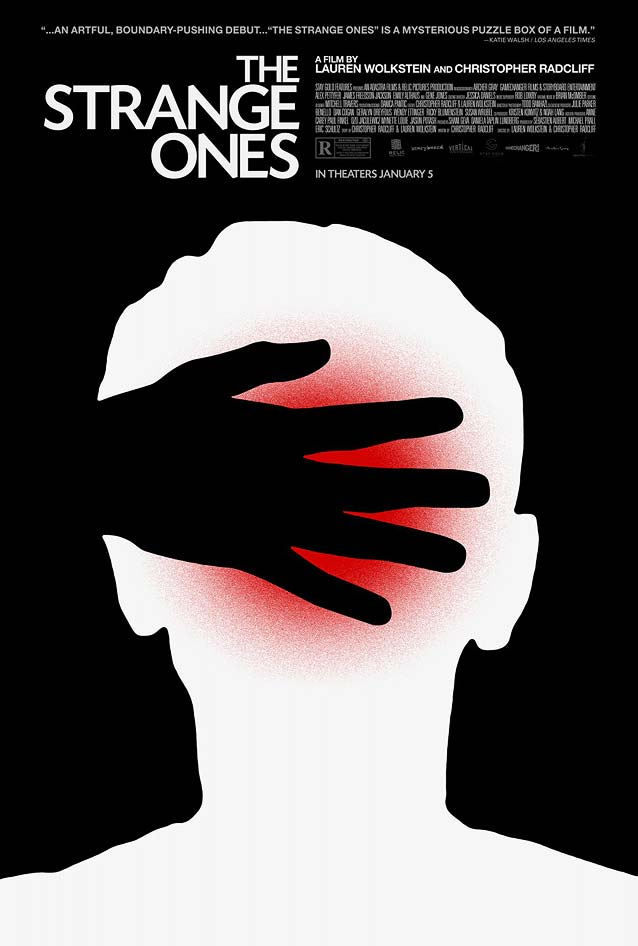 Adam Maida's poster for The Strange Ones
