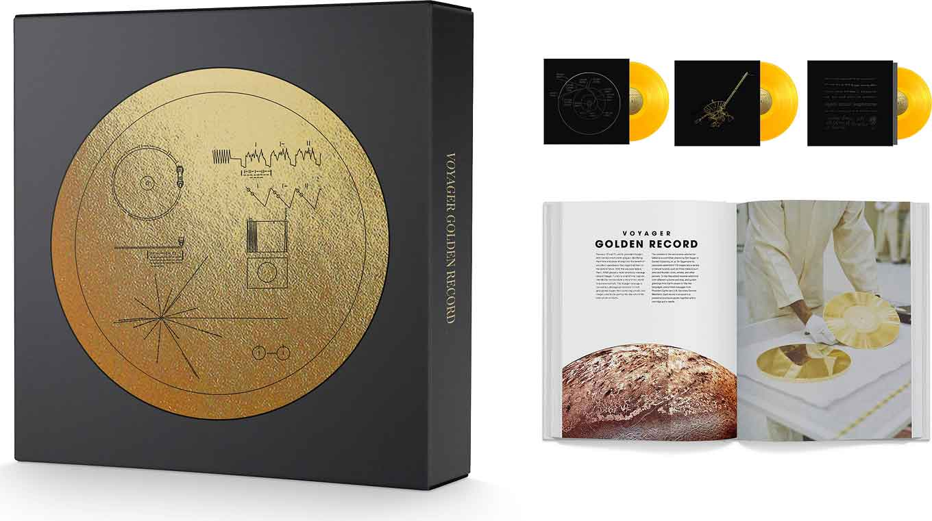 Package design for Voyager Golden Record: 40th Anniversary Edition