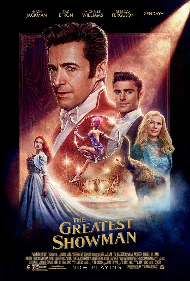 BLT's poster for The Greatest Showman