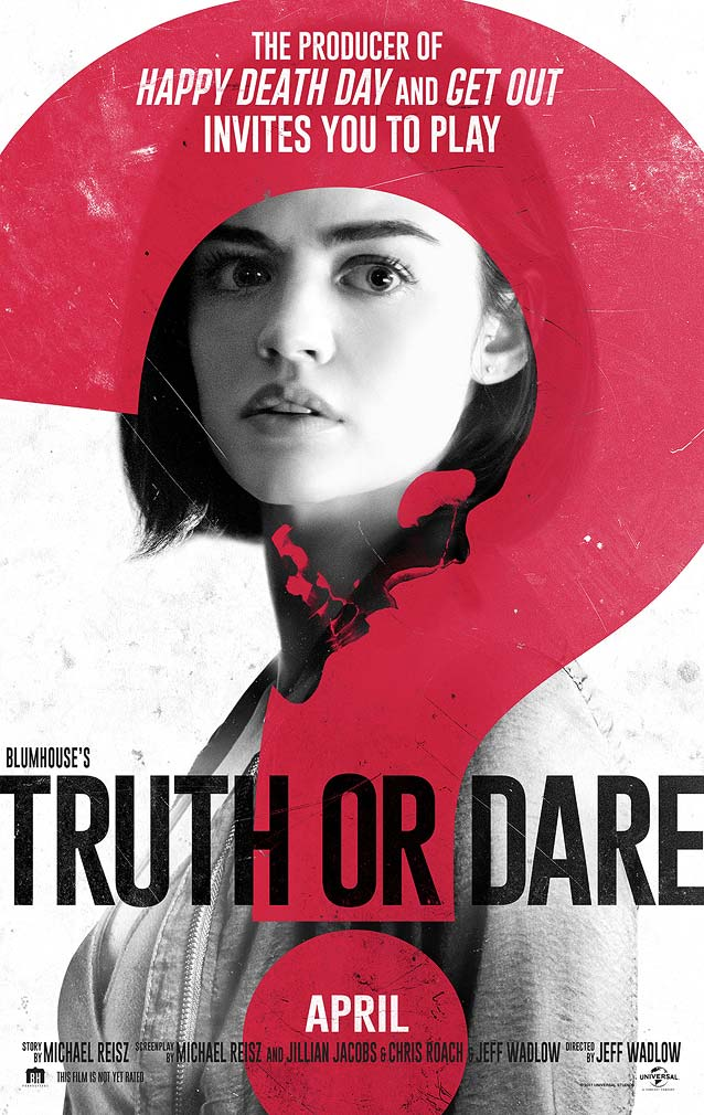 LA's poster for Blumhouse's Truth or Dare