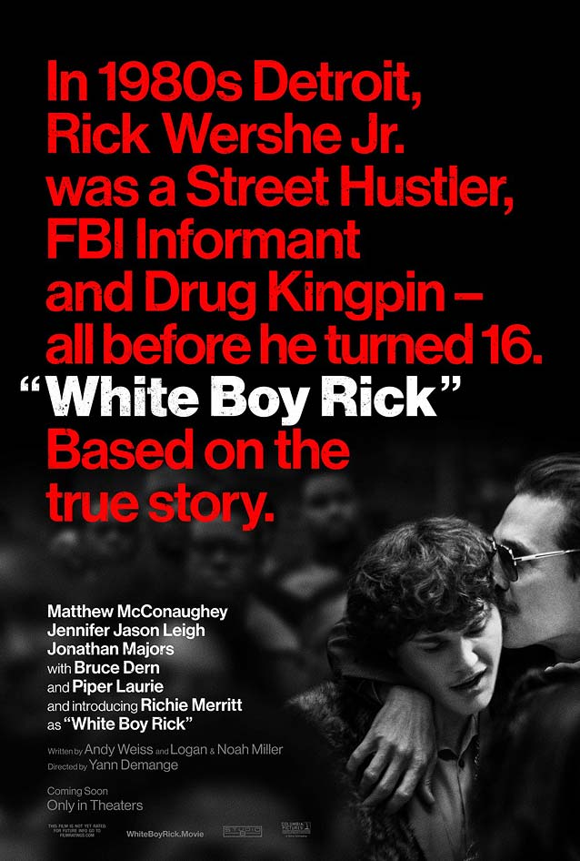 Manheim's theatrical one-sheet for White Boy Rick