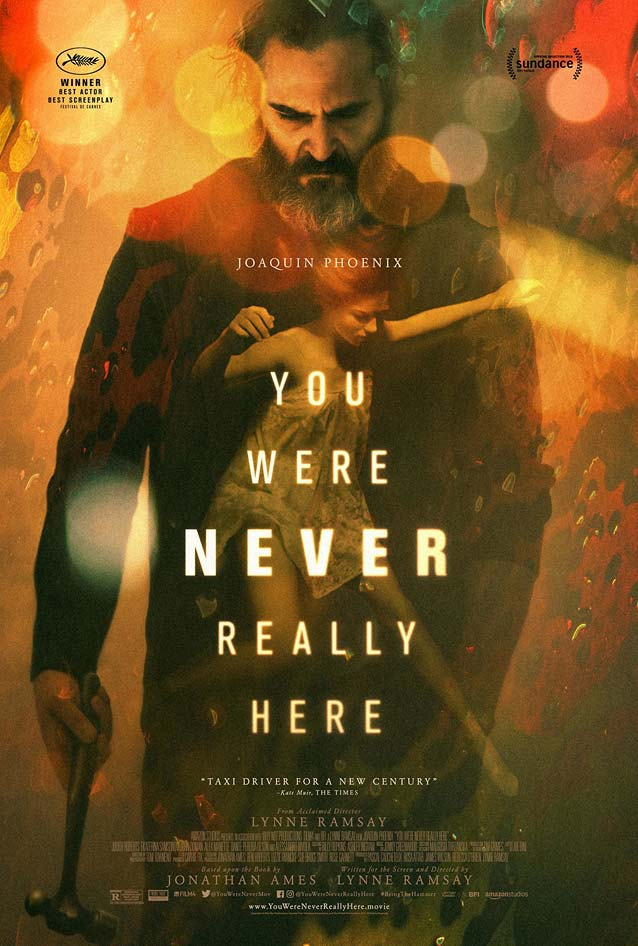 P+A's festival poster for You Were Never Really Here