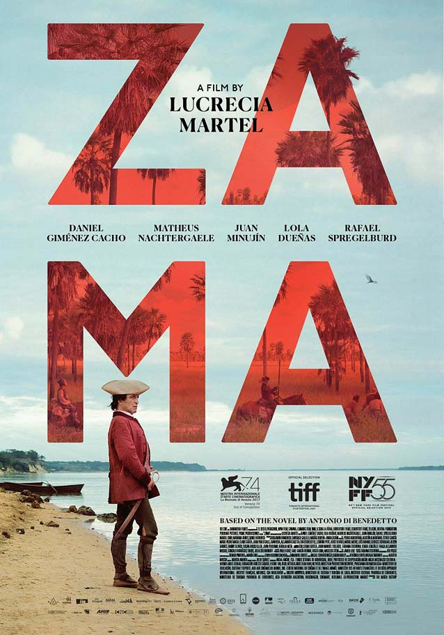 Domestic one-sheet for Zama